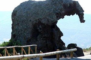 Roccia dell'Elefante - laterale