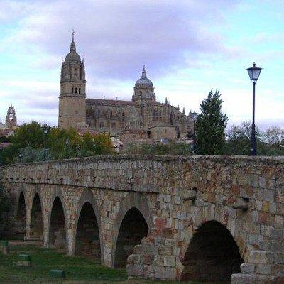 Puente romano de Salamanca, Salamanca.