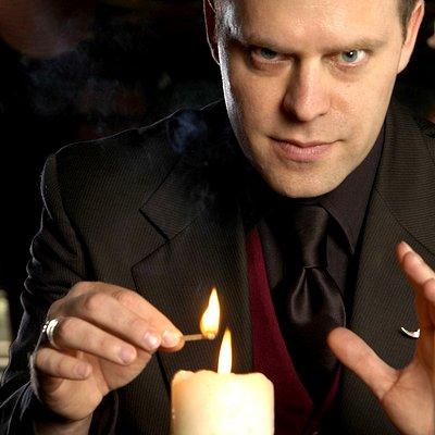 The host of Supernatural Chicago: Neil Tobin, Necromancer