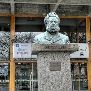 Fodt i Skien Henrik Ibsen 20 mars 1828.