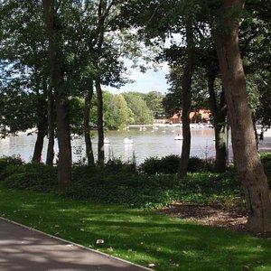 Boating Pond on South Marine Park