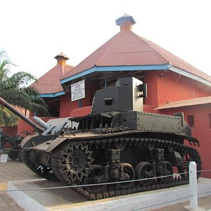Kumasi Fort - M5 Stuart Tank.