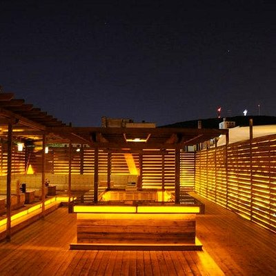 Club Muzique Rooftop Terrace