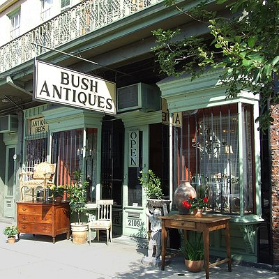 Our shop on historic Magazine Street.