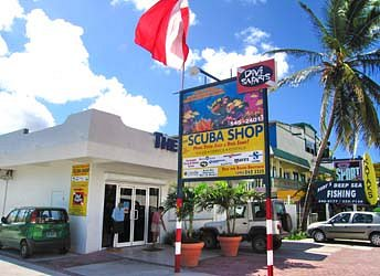 The Scuba Shop in Simpson Bay, Airport Boulevard