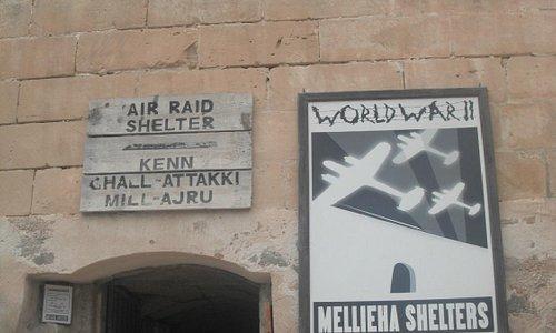 Air raid shelters