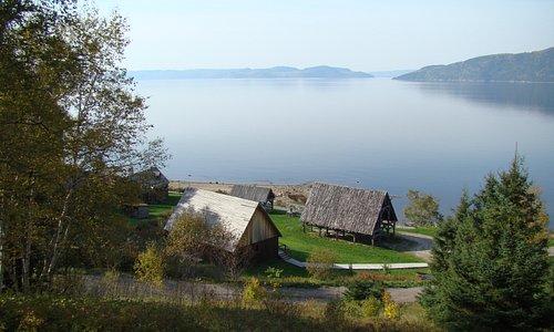 Basse-ville de la colonie de Québec du Site de la Nouvelle-France