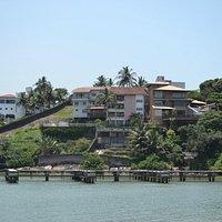 Ilha do Boi - external view