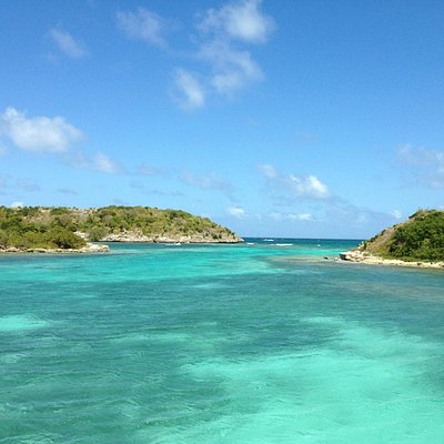 Snorkeling spot on Bird Island