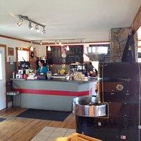 Coffee bar and roaster