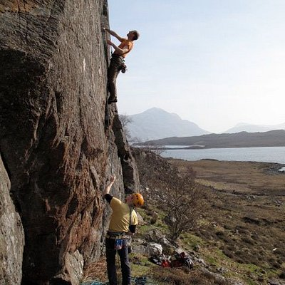 Rock Climbing with Stewart Mountain Skills