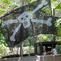 Pirate ship at The Children's Garden