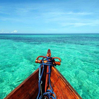 Seascape from Zanzibar Watersports dhow