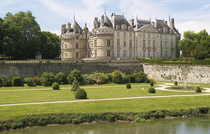 Exterior View of Chateau du Lude from the Loir River