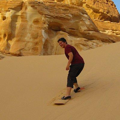 Sandboarding Sinai 3 Aug 2010, El Safra Dune, St. Catherine/Dahab 2