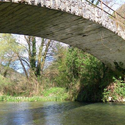 IL ponte  sul Nera
