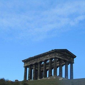 Penshaw Monument and a rare Durham blue sky