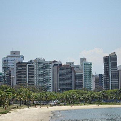 Praia do Canto, vista da Ilha do frade
