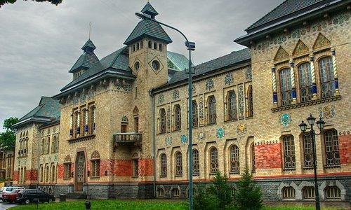Poltava Museum: museum building