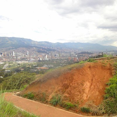 On top of Cerro Volador