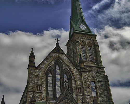 Trinity Church, St. John, New Brunswick.  Photo taken April 2012.