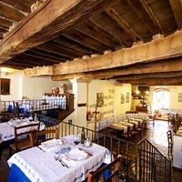 San Leo Osteria La Corte Intgerno del ristorante