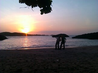 Sunset ride la cueva. manati  PR