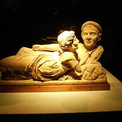 Urna degli sposi - Museo Guarnacci