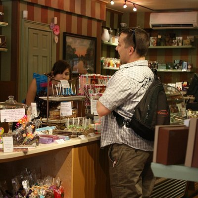 Bill at Beacon Hill Chocolates