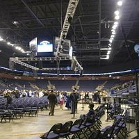 1stBank Center - view from the floor