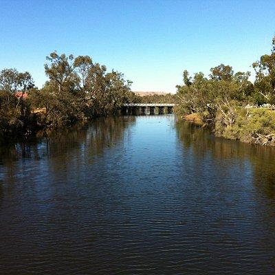Avon River in York near bridge