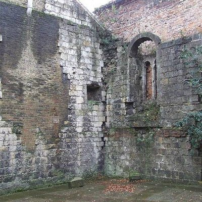 Norman House Ruins, off Stonegate York