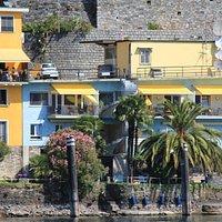 Ristorante San Martino, view from the lake