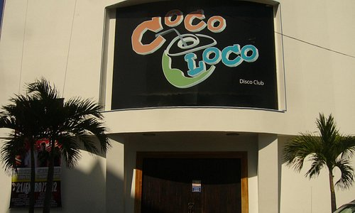 Entrada a Coco Loco