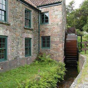 The mill. Le Moulin de Quetivel. Jersey