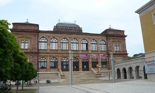 unser eigentliches Ziel das Neue Museum Weimar