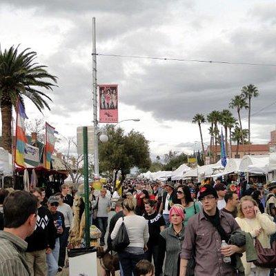 4th Ave Street Fair in Tucson AZ