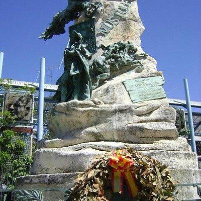 Monumento a Andrés Torrejón, Móstoles, Madrid.