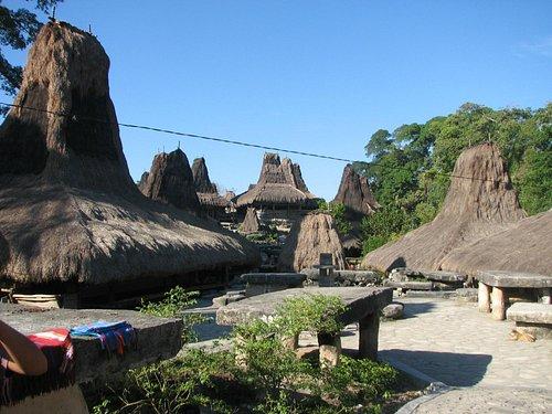 Tarung village, Waikabubak, Sumba