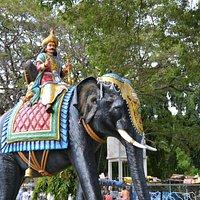 Statue of Karikalan