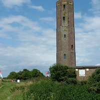 The Naze Tower from the South.