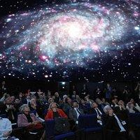 Spettacolo in corso al Planetario di Padova