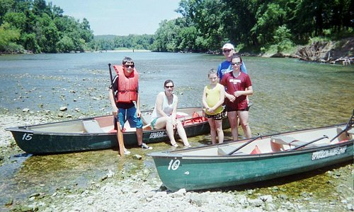 Canoeing on the Illinois River