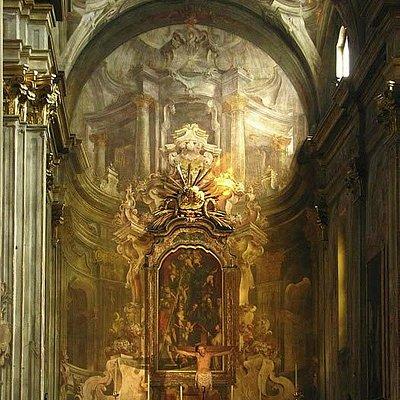 Interno chiesa S.Cristoforo - Vercelli