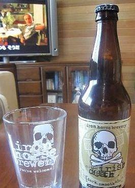 irish death,this beer is bery good!!