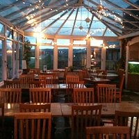 Dining in the Conservatory