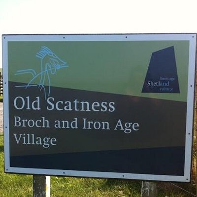 Old Scatness Broch and Iron Age Village