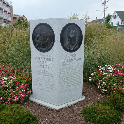 Verrazzano Monument on Rehoboth Boardwalk