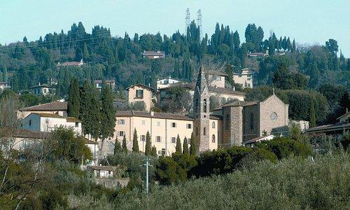 Vista del B&B Villa Morghen Florence Campus - Florence