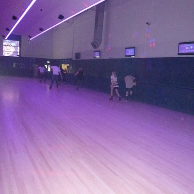 The roller rink